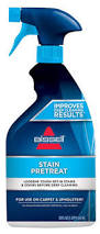 Stain Remover For Upholstery Shop Bissell Stain Pretreat 22 Oz Carpet Cleaning Solution At