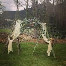 wedding arch ladder woodland wedding suspended ladder indianna blooms
