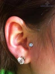 stud for ear piercing lobe piercing with stud for ear diamond stud tragus
