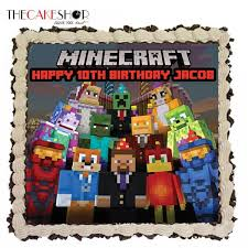minecraft family at 58 90 per cake the cake shop