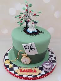 Mad Hatter Decorations Mad Hatter Alice 21st Birthday Cake Cake By Yvonne Beesley