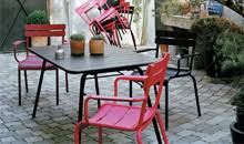 chaises fermob matière et couleur meuble et décoration intérieure annecy boutique