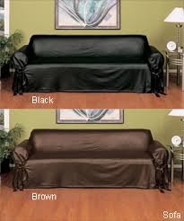 Leather Slipcovers For Sofa Leather Slip Cover Genius For The Home Pinterest