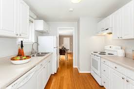 traditional kitchen with hardwood floors galley in seattle wa