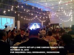 string lights for wedding for rent makati free classifieds in