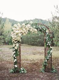 flower arch beautiful ceremony decor inspiration aisle arches chic vintage