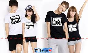 wallpaper baju couple kaos couple 110 rashena