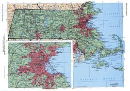 Massachusetts On A Map Massachusetts Mapfree Maps Of Us