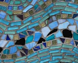 free images window wall stone pattern color blue art window glass wall stone pattern color blue art mosaic mural scrap colored glass grout mosiac