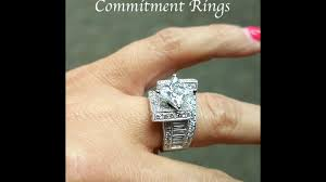 commitment ring commitment rings by bloomingbeautyring