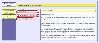 vucc setup u2014 logbook of the world lotw help pages
