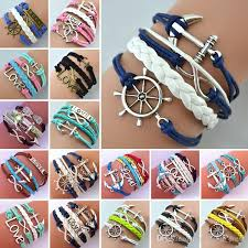 bracelet style images 2017 infinity bracelets mix style 20 pies fashion jewelry jpg