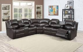 Sectional Reclining Leather Sofas by Sofa Small Sectional Sofas With Recliners Oversized Recliner