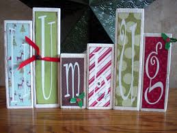 humbug letter blocks from blocks of wood food crafts and family
