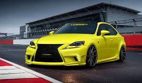 lexus rcf widebody 2014 lexus is350 f sport by vossen wheels review top speed