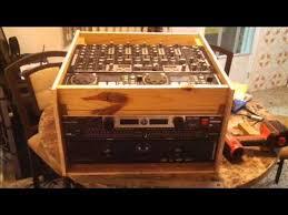 Audio Rack Case Homemade Rack Case For Dj Youtube