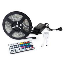 led strip lights remote 5m 5050 smd led strip light with remote and power supply wyz works