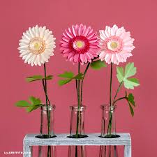 Gerbera Daisies How To Make A Bouquet Of Paper Daisies