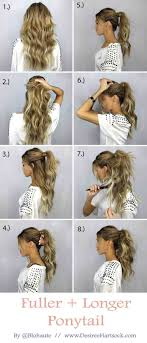 rusk ponytail method pictures ponytail haircut layers choice image haircuts for men and women