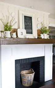 Shabby Chic Fireplaces by 62 Inspiring And Fresh Spring Mantels Digsdigs
