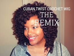 how do you curl cuban twist hair the remix cuban twist crochet wig natural transitioning