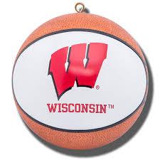 boelter brands wisconsin badgers mini basketball ornament