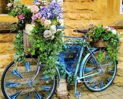 18 mind blowing bicycle planter ideas for your garden or on the go