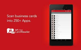 Scan Business Cards Android Top 10 Best Business Card Scanner Apps For Android Phone
