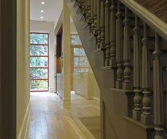 Banister Wall Good Looking Stair Banister Ideas With Metal Railing Lighted Stairs