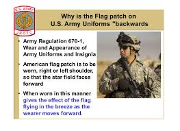 Backwards Us Flag Stars And Stripes Jrotc State When And Where The First U201cstars And