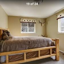 find more queen log bed frame for sale at up to 90 off