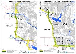 Trans Canada Highway Map by Alberta Highway 201 U2013 Calgary Ring Road