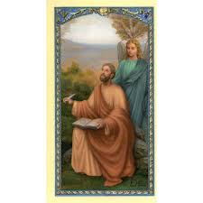 prayer card st matthew prayer card the catholic company