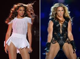 Beyonce Concert Meme - beyoncé avoids muscly picture repeat by issuing just two