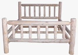 Wood Log Bed Frame Log Frame Beds Best 25 Log Bed Frame Ideas On Pinterest Log Bed