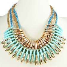 chunky gold necklace fashion images Women 39 s costume fashion jewellery statement chunky style free jpg