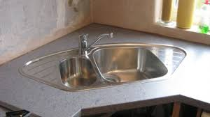 Kitchen Sink Design Ideas Mesmerizing Astonishing Corner Sink Kitchen Design At Undermount