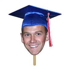 Our Graduation Fan Faces Feature Your Grad S Image Printed On Poster