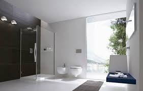 classy design ideas of luxury small bathrooms with white purple