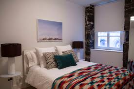 luxury and design rental in romantic old town montreal