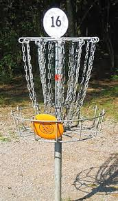 roonie ranching s disc golf basket and bag