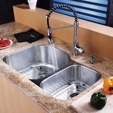 Kitchen Sink With Faucet Set Chrome Kitchen Sinks You U0027ll Love Wayfair