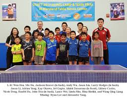 maryland table tennis center young players excel at 2017 maryland hopes c and trial