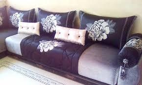 photo canapé marocain canapé design moderne et fauteuil pour salon marocain salon deco
