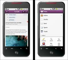 news widgets for android yahoo launches android apps for mail messenger and search widget
