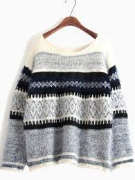 sweater blue sweater blue and white sweater blue patterned