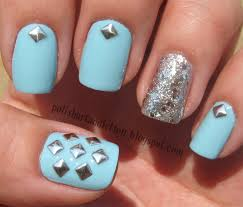 nail art studs how you can do it at home pictures designs nail