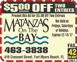 Fort Myers Beach Florida Map by Matanzas On The Bay Florida Coupons And Deals