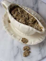 turkey gravy with porcini mushrooms vegan mushroom gravy bessie bakes