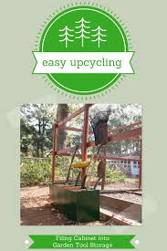 Upcycled Filing Cabinet Easy Upcycling Filing Cabinet Into Garden Storage Sustainablog